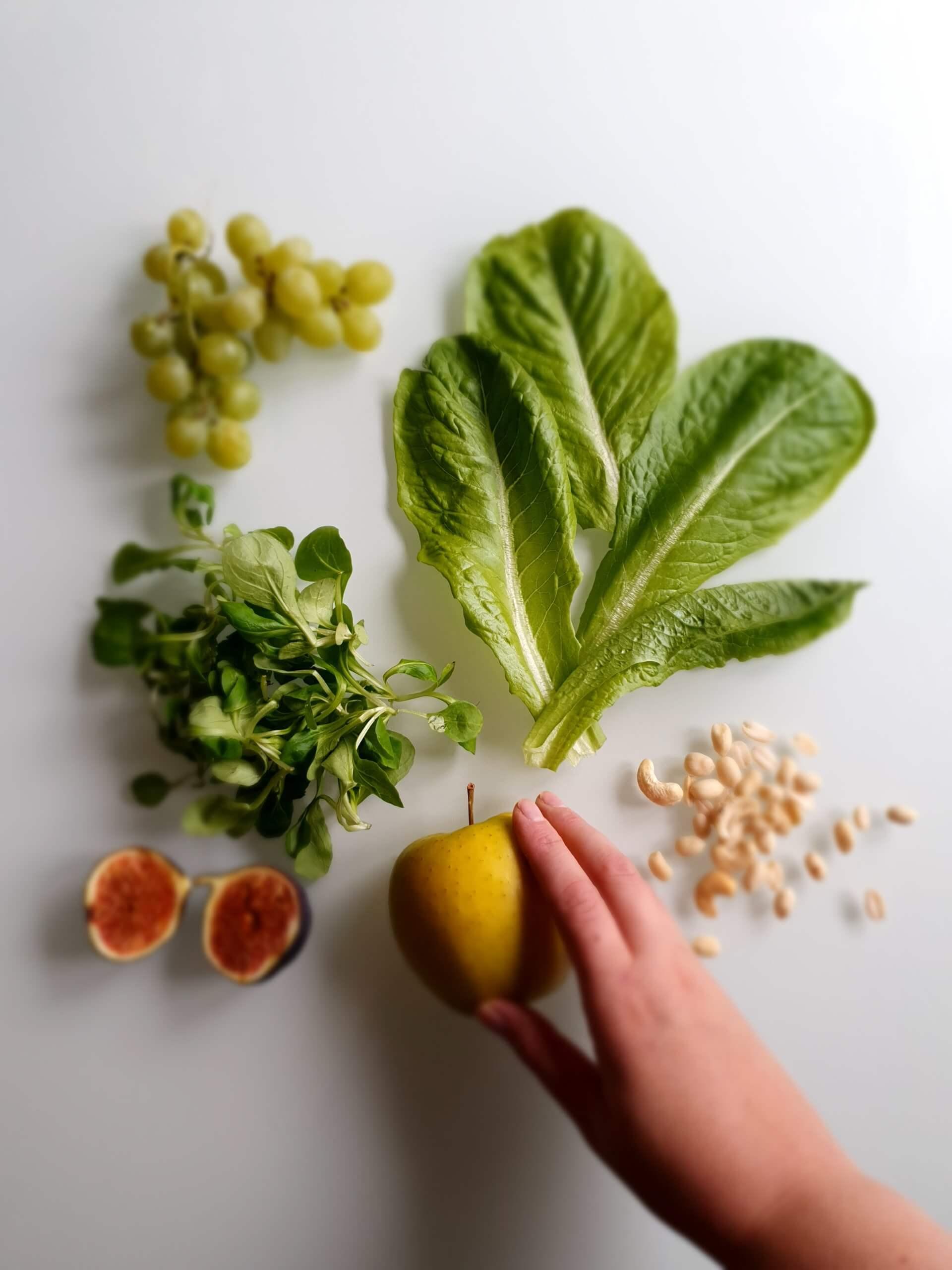 Syksyn salaattiaineksia